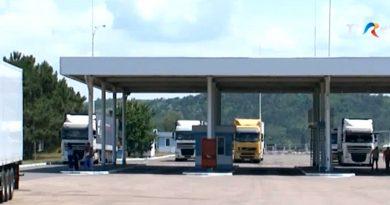 Экспортеры фруктов из Молдовы жалуются на очереди на таможне в Албице