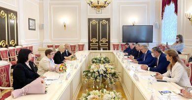 «Санкт-Петербург — один  из локомотивов межрегионального сотрудничества». Ирина Влах о визите в Россию
